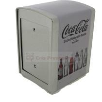 Porta Guardanapos Coca Cola Evolução Das Garrafas