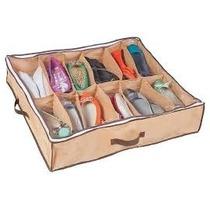 Sapateira Flexível 12 Pares Ordene- Organizador De Sapatos