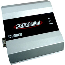 Modulo Amplificador Soundigital Sd 3500w Rms Digital 1 Ohms