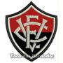 Patch Bordado Escudo Futebol Vitória Da Bahia 8,5cm Tms20