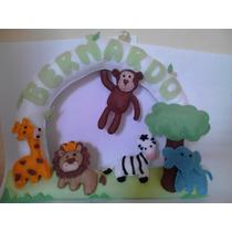 Enfeite Porta Maternidade Safari