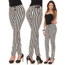 Calca Jeans Listrada Flare Plus Size Molecoton Social Resina