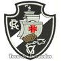 Patch Bordado Escudo Futebol Vasco Da Gama 8,5cm Crvg Tms19