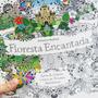 Livro Floresta Encantada Para Colorir .