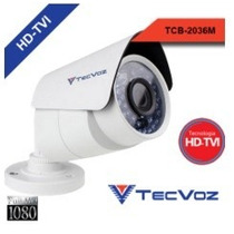Tcb-2036m - Câmera Bullet Hd-tvi Tecvoz 2.0 Megapixel 1080p