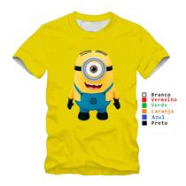 Camisetas Minions Meu Malvado Favorito 100% Algodão Modelos