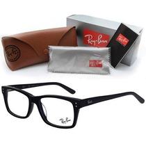 Armaçao Rayban Para Óculos De Grau Rayban Quadrada Preta