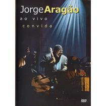 Dvd+cd Jorge Aragão - Ao Vivo Convida