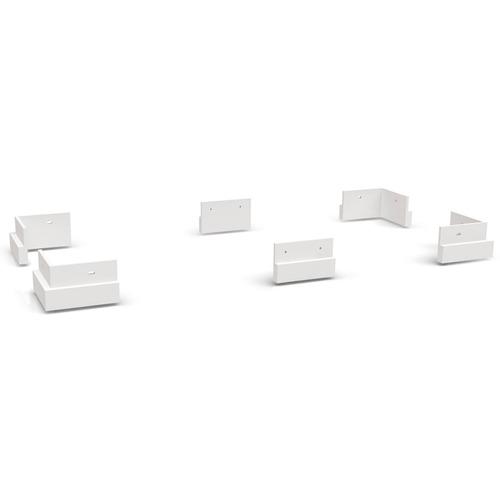 Conjunto De Pés Para Guarda - roupa Kappesberg Branco