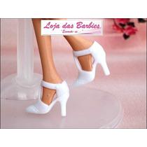 Sapatinho Para Boneca Barbie * Sapato Fashion Luxo * Mattel