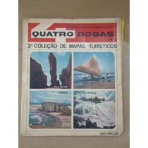 Revista 4 Rodas 2ª Coleção De Mapas Turísticos 1964
