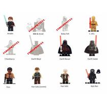 Minifigures Star Wars Blocos Montar