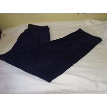Calça Colombo Veludo Cotelê Tam.48 Masculina - Azul