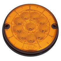 Lanterna Led Pisca Ø 125mm 24v Amarela