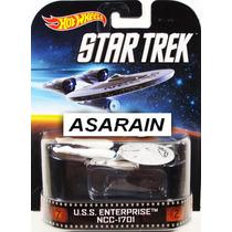 Star Trek Enterprise Ncc 1701 Retro Hot Wheels - 1/64