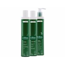 Kit Folhas Maxiline (shampo,condicionador,selante Cuticular)