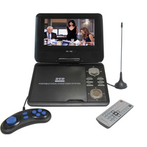Dvd Portatil Segree 9.8 300 Jogos Usb + Sd + Tv + Radio Fm