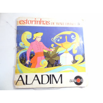 Antigo Disquinho E Livrinho Estorinhas Disney Aladim!!!