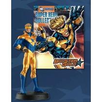 Miniatura Dc Booster Gold - Gladiador Dourado - Eaglemoss