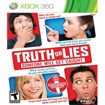 Truth Or Lies - Xbox 360