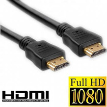 Cabo Hdmi 3,0 Metros 1.4 3d Full Hd 1080p Gold Ps3 Xbox Tv