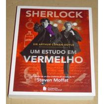 Sherlock Um Estudo Em Vermelho Sir Arthur Conan Doyle Livro
