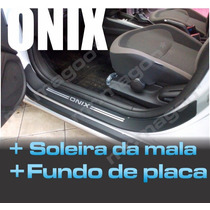 Soleira Proteção Total Onix + Frete Gratis