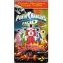 produto 105 Fvc- Vhs Filme- 1999 Power Rangers Força Tripla- Dublado