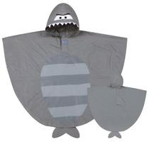 Poncho Capa De Chuva Infantil Tubarão Stephen Joseph