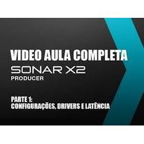 Video Aula Sonar X2 Completa P/ Versões Anteriores/posterio