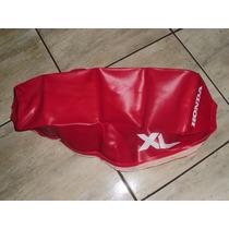 Capa De Banco Xl125 Ano 84/85 Vermelha Honda/yamaha/suzuki