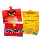 Convite De Aniversário Angry Birds O Filme - 08 Unidades