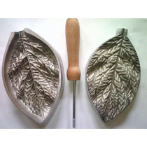 Frisador De Flor Em Alumínio - Folha Silvestre