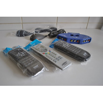 Lote Controles Tv + Game Seletor + Fonte Adapt. D Link 125 D
