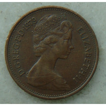 2197 Inglaterra 1979 Two Pence Elizabeth I I 26mm - Bronze