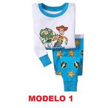 Pijama Infantil Toy Story Buzz Woody - Fim De Estoque!