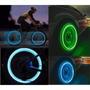 Bicos Neon Led C/4 Unidades Roda Bike Carro Moto Bicicleta