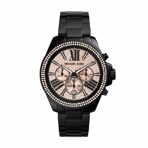 Relógio Michael Kors Mk5879 Everest Rose Com Caixa E Manual c48bb3a5c3