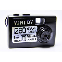 Filmadora Mini Dv Camera Espia 5.0 Mp Detecção De Movimento