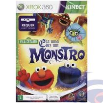 Jogo Xbox 360 Vila Sésamo Era Uma Vez Um Monstro