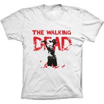 Camisetas The Walking Dead , Seriados ,