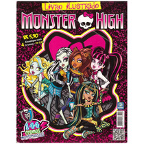 Album De Figurinhas Monster High De 2012 - Álbum Incompleto