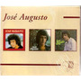 Cd Box De Az Jose Augusto 2 Cd Lacrados 1 Aberto