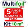 Manta Térmica Para Telhado 10 M² 1 Face (flex)