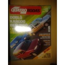Revista Quatro Rodas N°500 Doblo X Kangoo X Berlingo - Audi