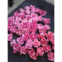 50 Rosas Eva 3 Cm De Diametro Para Lembracinhas