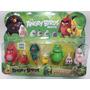 Angry Birds Movie Kit Com 7 Bonecos Red Matild Leonard Jim