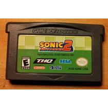 Gba: Sonic Advance 2 Original Americano! Raríssimo! Jogaço!