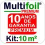 Manta Térmica Para Telhado M² 2 Faces (premium)