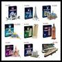 Kit Com 17 Quebra Cabeça Promoção 3d Puzzle Varios Modelos